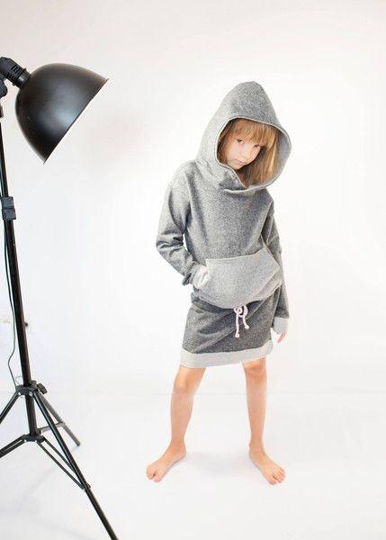 SUKIENKA COPENHAGA BLACK - KIDSpoint - Sukienki dla dziewczynek