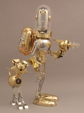 lawerence northy | The Steampunk Robots Of Lawrence Northey