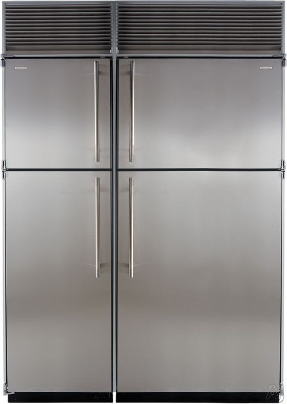 """Marvel M60C2TFWS 60"""" Top-Mount Refrigerator with 38.5 cu. ft. Capacity, Daylight Interior Lighting, Glass Cantilever Shelves, Automatic Icemaker and Adjustable Door Storage. $9,939"""