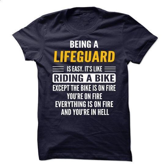 Being a Lifeguard - #make t shirts #tshirt designs. SIMILAR ITEMS => https://www.sunfrog.com/Geek-Tech/Being-a-Lifeguard.html?60505