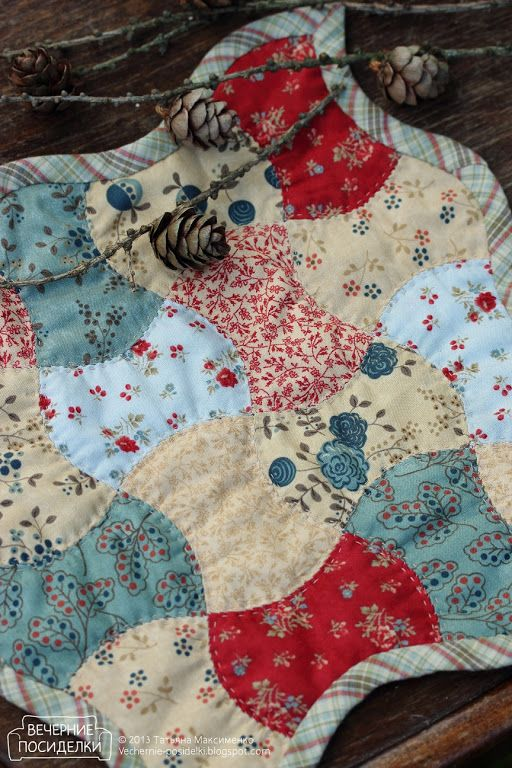Patchwork Cloth / Quilted Tablecloth   Evening Gatherings