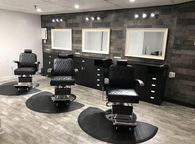 Man Cave Barber Shop Decor Barber Shop Interior Modern Barber Shop