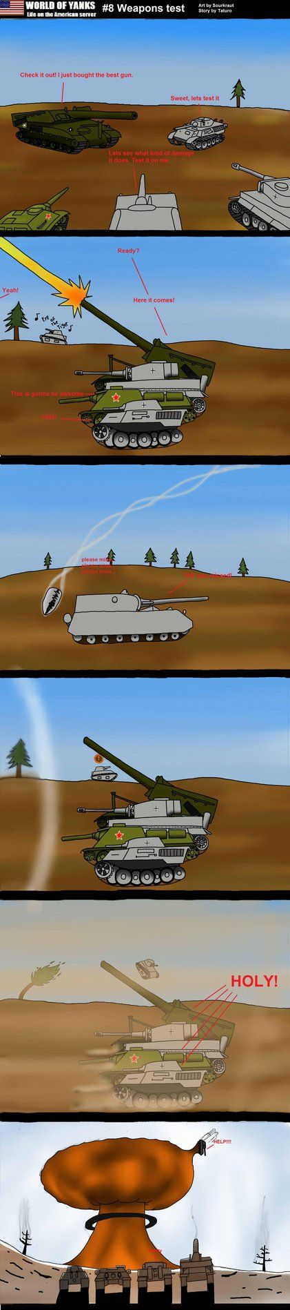 I had a lot of ideas left over after the World of Tanks comic contest so i decided to keep making them and putting them in the WOT forums for those who wahted me to keep drawing them. Didnt draw th...