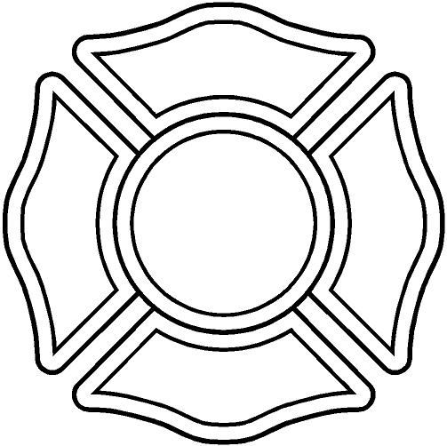 Maltese Cross Template
