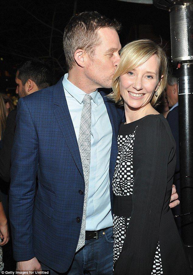 Lovebirds:Even Anne Heche, 46, and affectionate long-term partner James Tupper, 50, showed...