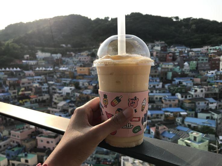 Mango blend at Gamcheon Cultural village Busan #gamcheon #busan