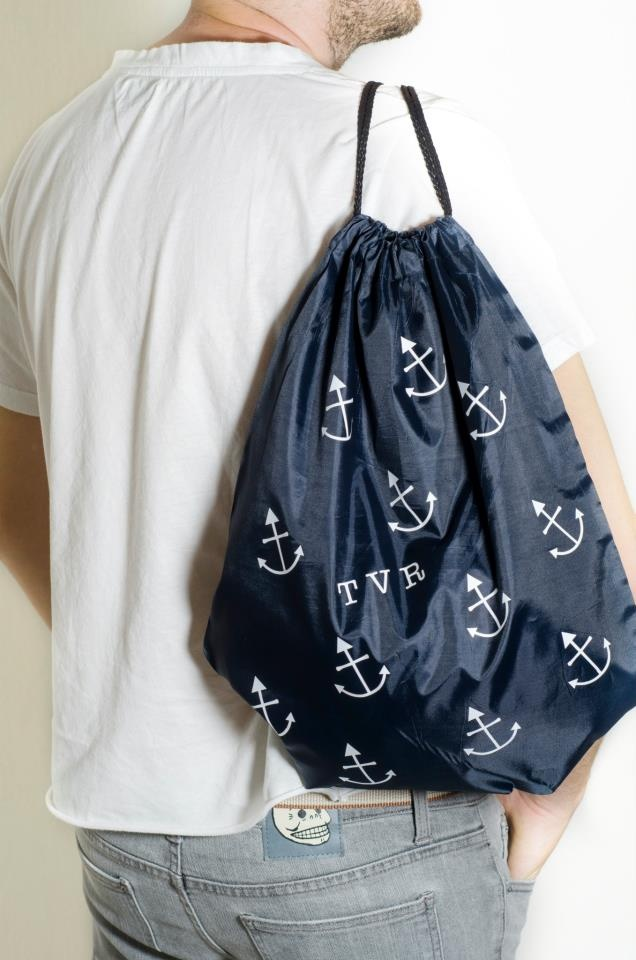 Navy Rucksack  Design : TVR Summer
