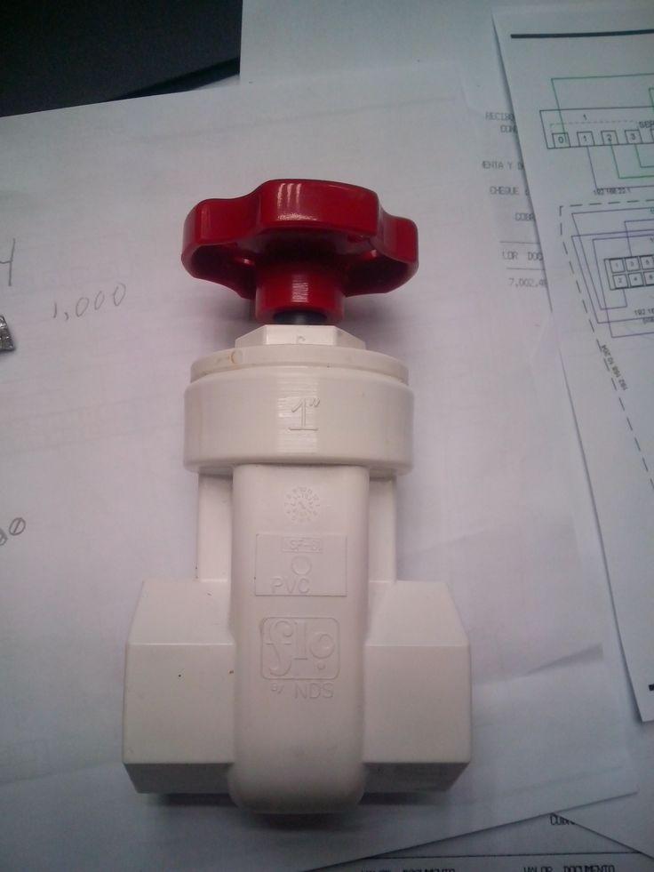 Ball Valve /Llave de Bola, necesaria para el método Herbie y controlar la baja al sump para que no haga ruido