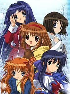 Kanon (2006). Because you should watch Kanon if you've seen Clannad and Air. ;)  Good anime, not as good as the others from key, but still amazing.