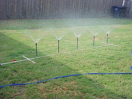 Homemade PVC Water Sprinkler   Less than $30 to make, works …   Flickr