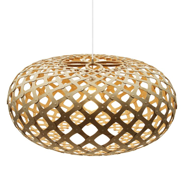 David Trubridge KINA - Suspension Bois Naturel Ø100cm