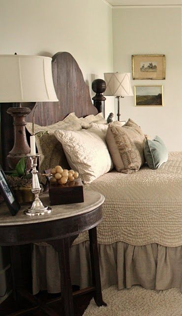Headboard for the love of a house: the master bedroom