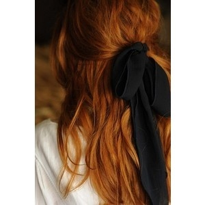 Hairstyle: Hairbows, Red Hair, Haircolor, Hair Ribbons, Black Bows, Hair Bows, Hair Style, Big Bows, Hair Color