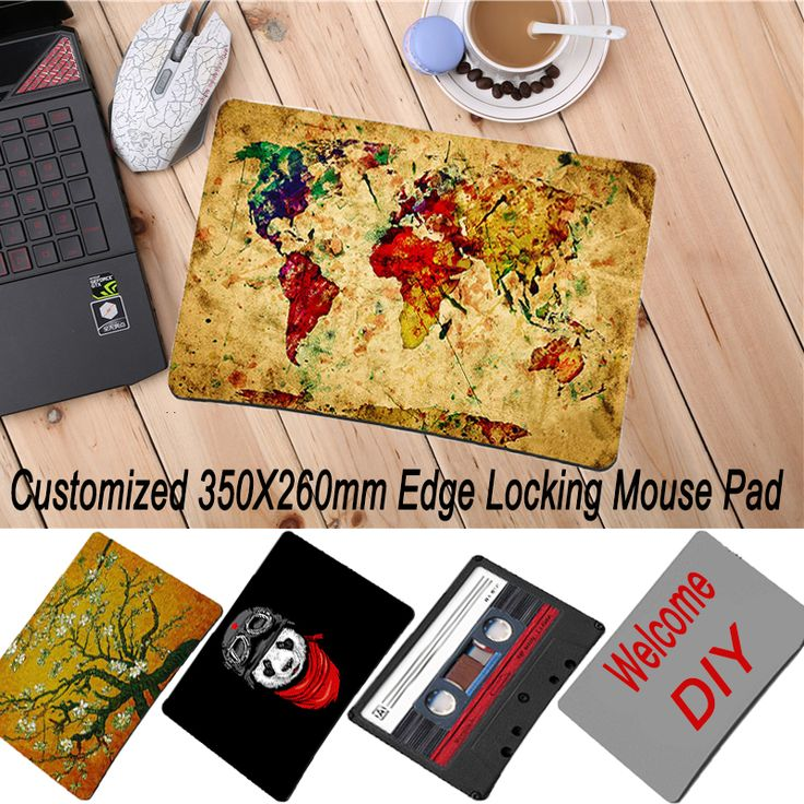DIY  cs go gaming mouse pad for razer for overwatch for steelseries muismat gaming pad