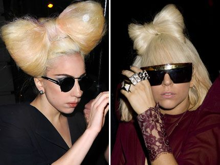 Lady GaGa Rocks Her Craziest Hairstyle Yet - Pictures - Celebrity Gossip, News & Photos, Movie Reviews, Competitions - Entertainmentwise