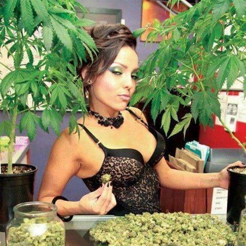 nude girls doing weed