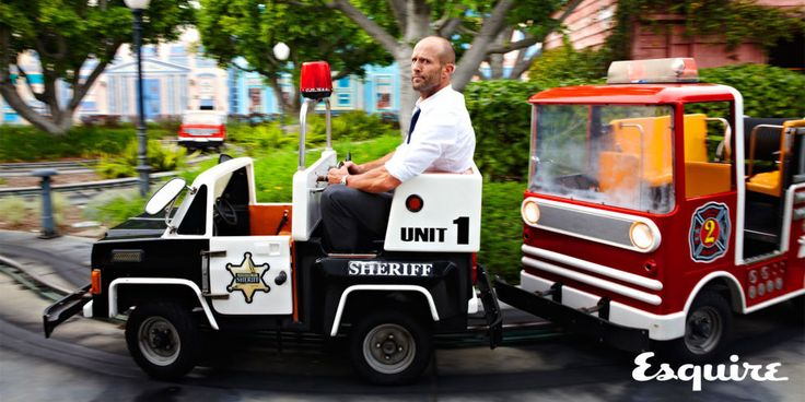 CELEBRITYS NEWS: Jason Statham, for Your Amusement