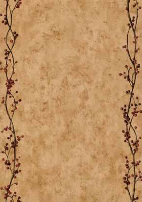 Wallpaper Features Pip Berries On An Mustard Crackle Background