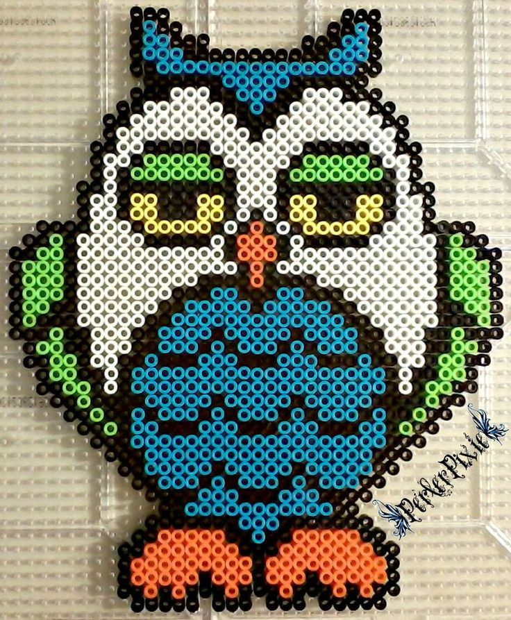 I Don't Give a Hoot by PerlerPixie on DeviantArt