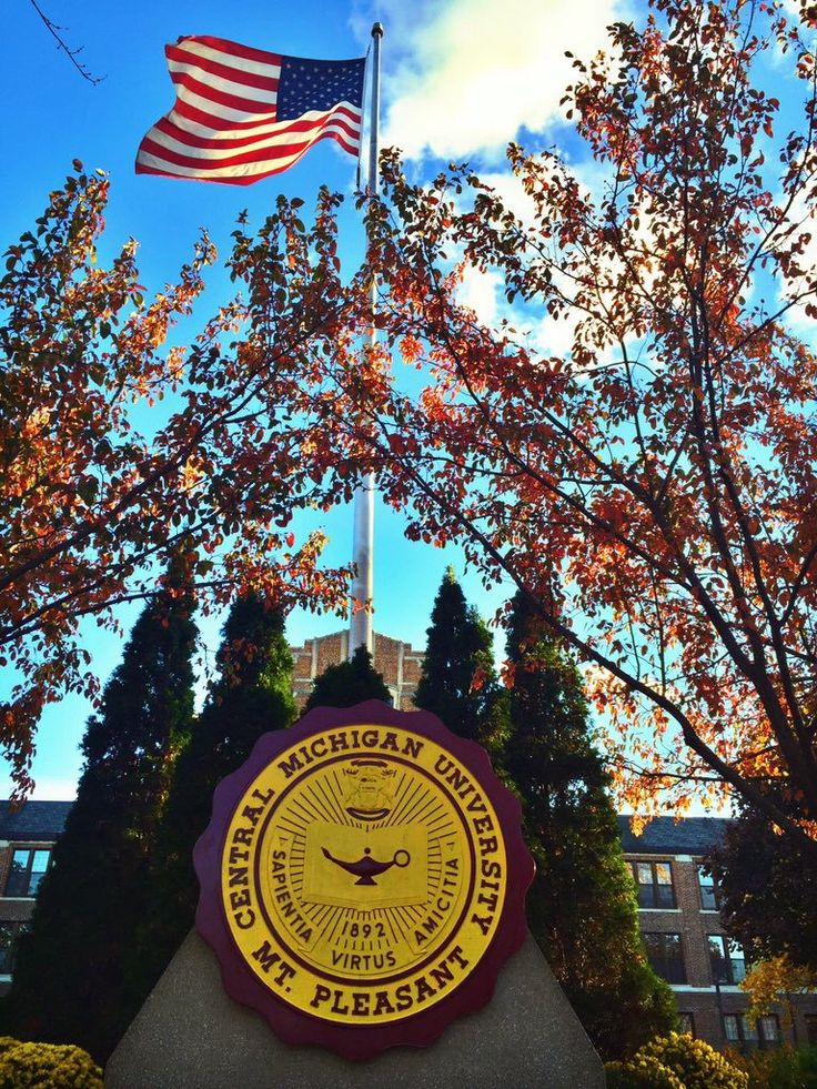 Central Michigan University in the Fall