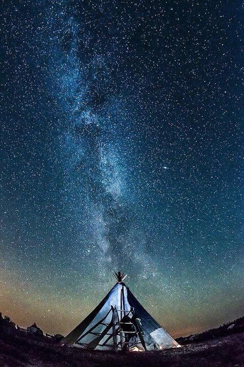 Ночь под звездами...