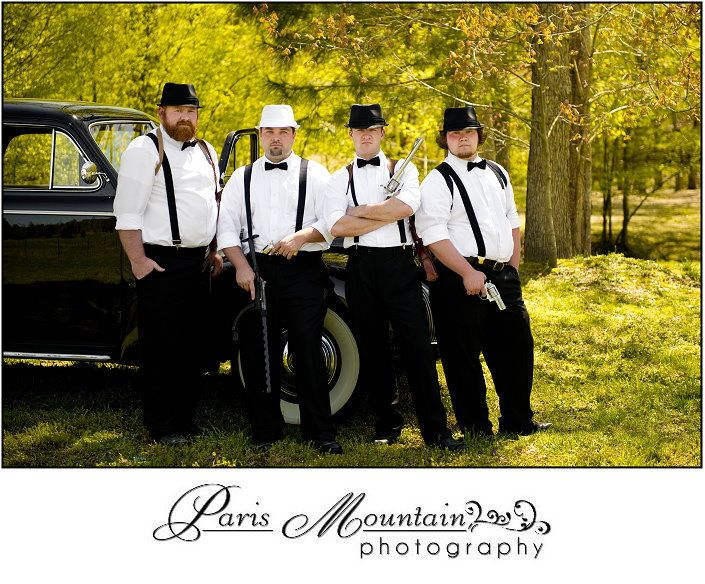 Mountain Wedding Theme | ... Squad!!! | Gangster theme wedding | Hightower Falls GA Wedding