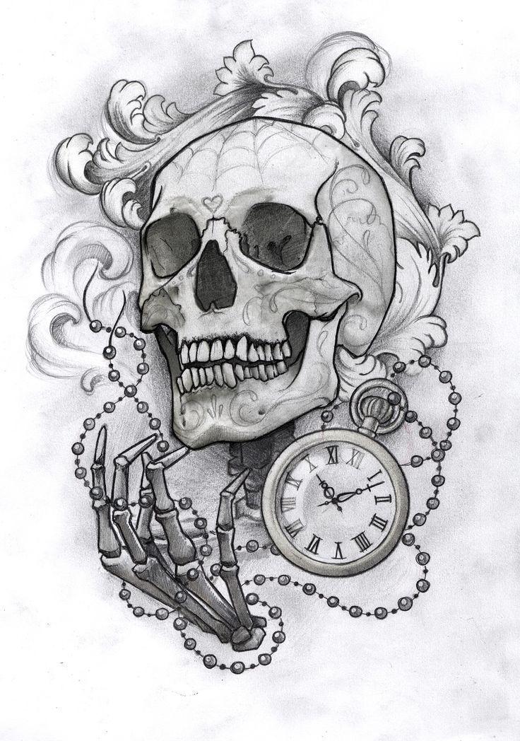 Sketches Drawn In Pencil Beattattoo Com Calaveras A Lapiz Craneo Dibujo Dibujos De Calaberas