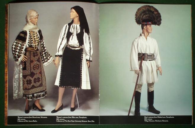 Romanian Costume Exhibition   Kent State University 1991   USA #Romania