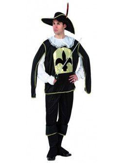 Disfraz de Mosquetero Negro
