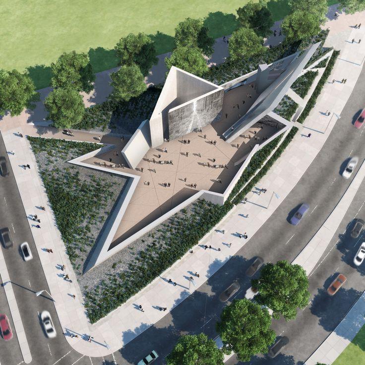 National Holocaust Monument - Libeskind