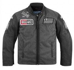 ICON 1000 Vigilante Dropout motorcycle jacket