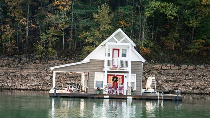 A floating cabin in tennessee in 2020 tennessee cabins