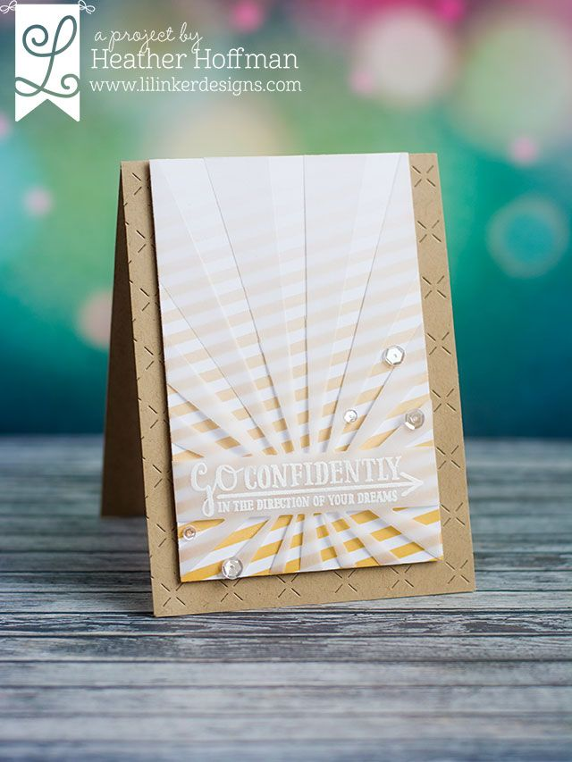 Houses Built of Cards: Lil' Inker Designs - June Release - Day 2 | go confidently in the direction of your dreams