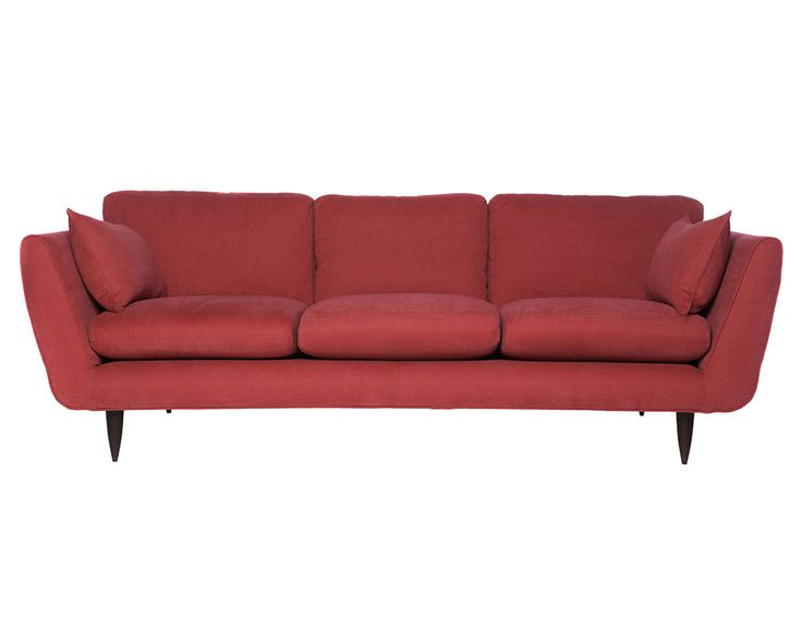 Retro | Archer + Co Marsala sofa