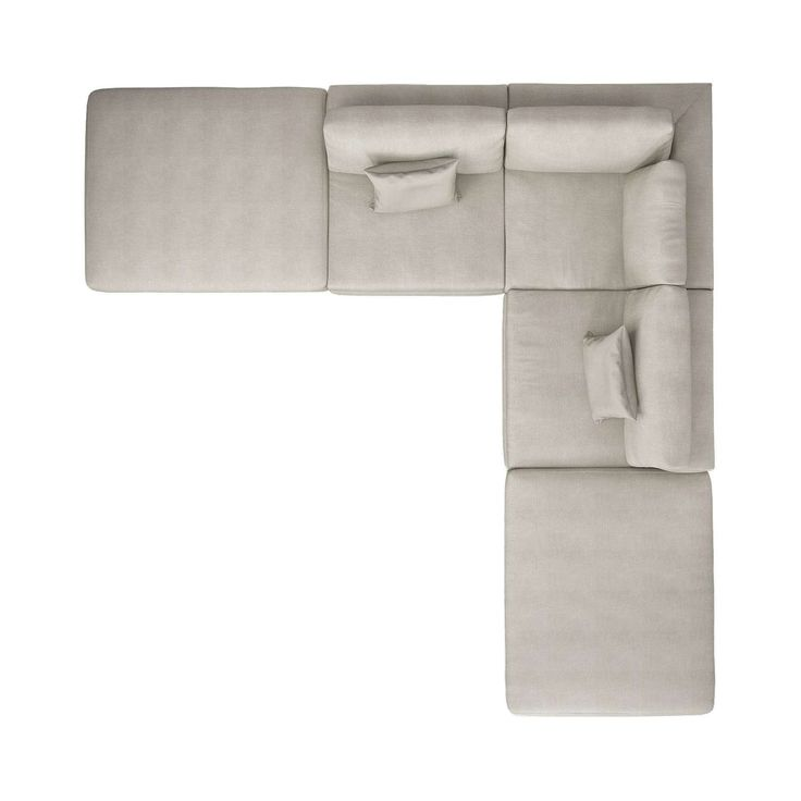 Perry Preconfigured Armless Corner Sectional Sofa In 2019