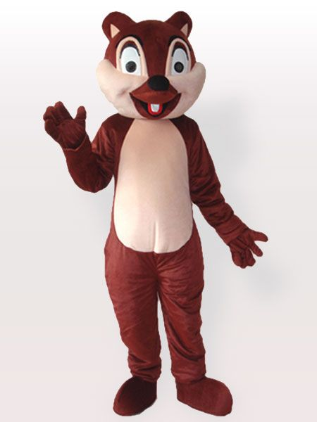 $139.82Tiny Brown Squirrel with One Incisor #Adult #Mascot #Costume