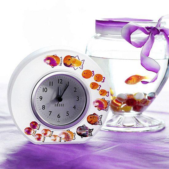 Fingerprint-Fish ClockCreative Ideas, Mothers Day Ideas, Cute Ideas, Mother Day Gifts, Mothers Day Gift, Fingerprintfish Clocks, Fingerprints Art, Painting Fish, Fingerprints Fish Clocks