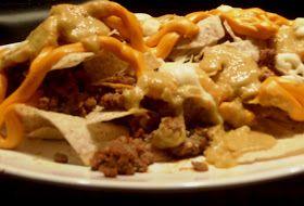 Tem delícia na cozinha: Comida mexicana: nachos ao forno