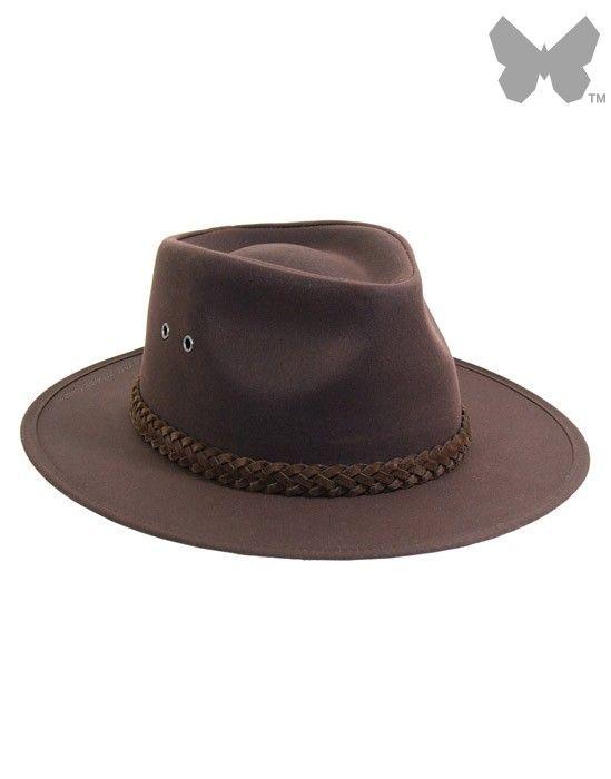 Barbour Unisex Wax Bushman Hat - Rustic Brown MHA0025RU51 ...