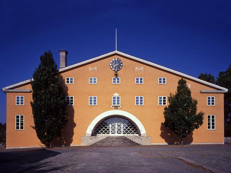 Erik Gunnar Asplund - Gallery 4 - Lister County Courthouse 1919 - 1921
