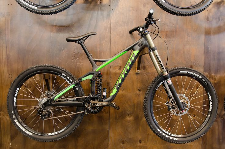 Brand new Kona Operator DH looks so fast, even on exposition stand. Love it!