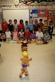 Do this on teddy bear picnic day.