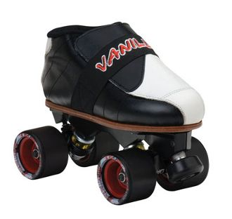 Chilla Vanilla  Chill out in this great jam skate from Vanilla   Boot: Vanilla Curve jam boots. Chassis: Sure-Grip's  aluminum Avenger plates with 45 degree double action trucks. Or, upgrade to the white magnesium version for an extra fee. http://shop.rollwithitct.com/Chilla-Vanilla-SESCV.htm
