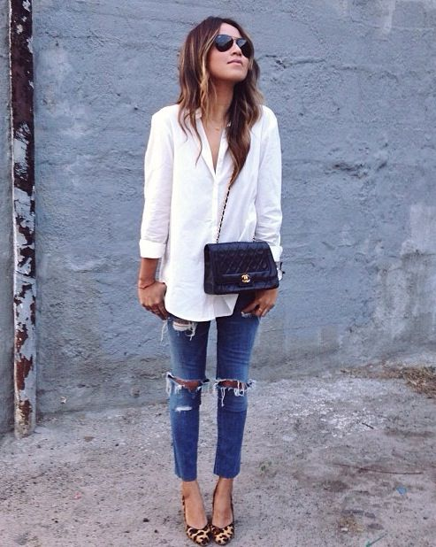 17 Best ideas about White Shirt And Jeans on Pinterest | High ...