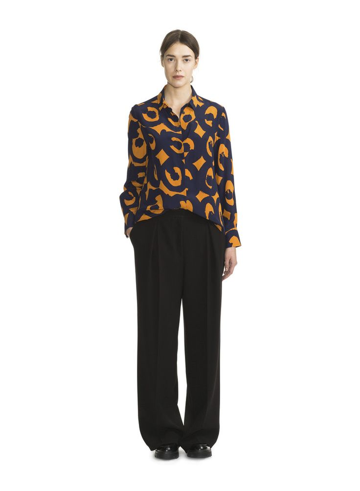 STRIX MARIMEKKO SHIRT ORANGE/ECLIPSE
