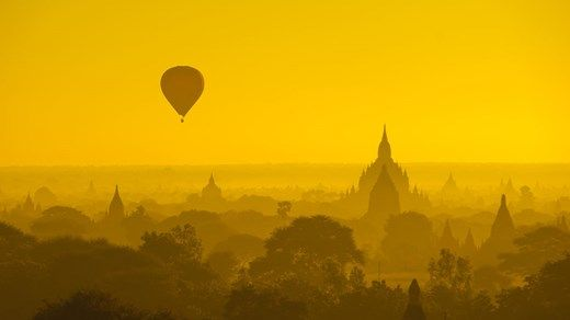 Travel tip: Destinations worth checking out in 2015: 6. Myanmar (Burma) Fly a hot air balloon over Bagan in Myanmar! #adventure #lighting #temple #Asia #KILROY