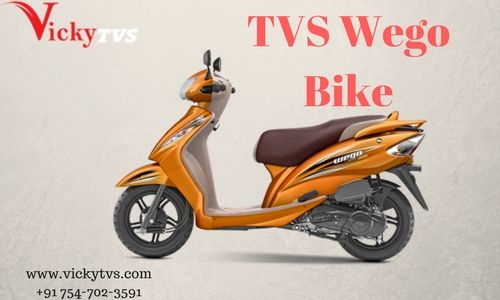 TVS Wego Bike is a motor scooter Fabricated by TVS Motor Company.  There releasing a few variants of TVS Scooty, the provider entered in the higher end sector of the scooterette market by introducing Wego.  See@ http://www.vickytvs.com/tvs-wego/