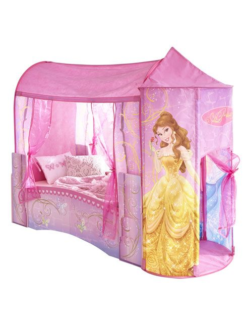 Disney Princess Feature Castle Toddler Bed  Disney Princess  Ideal transition from a cot Fun and functional toddler bed.