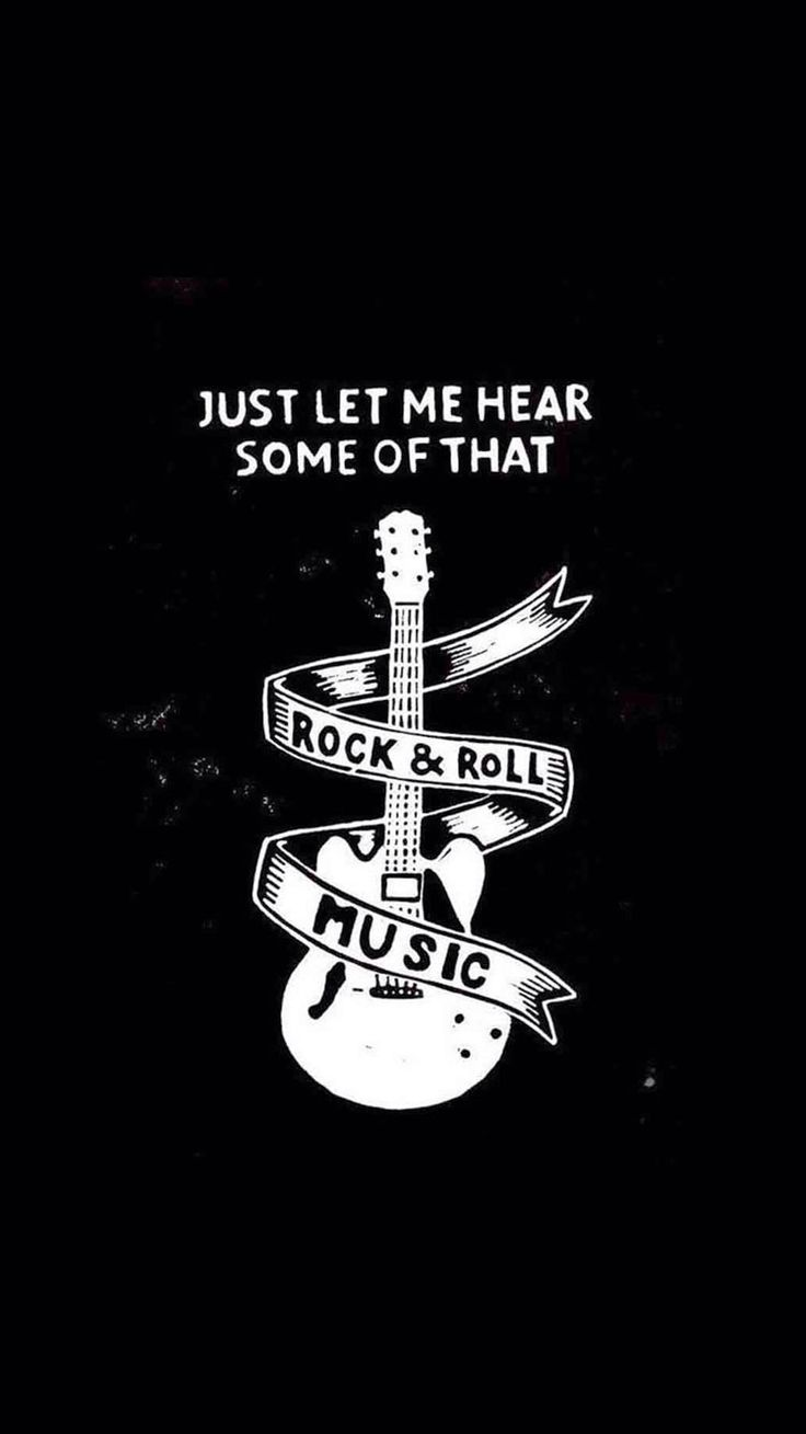 iPhone quotes wallpaper! Guitar - @mobile9 | Wallpapers for iPhone ...