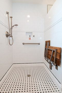 ADA Bathroom Remodel - traditional - bathroom - houston - Greymark Construction Company